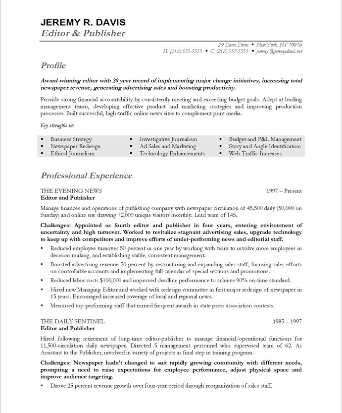 managing editor free resume samples blue sky resumes for writers and editors 39after Resume Resumes For Writers And Editors
