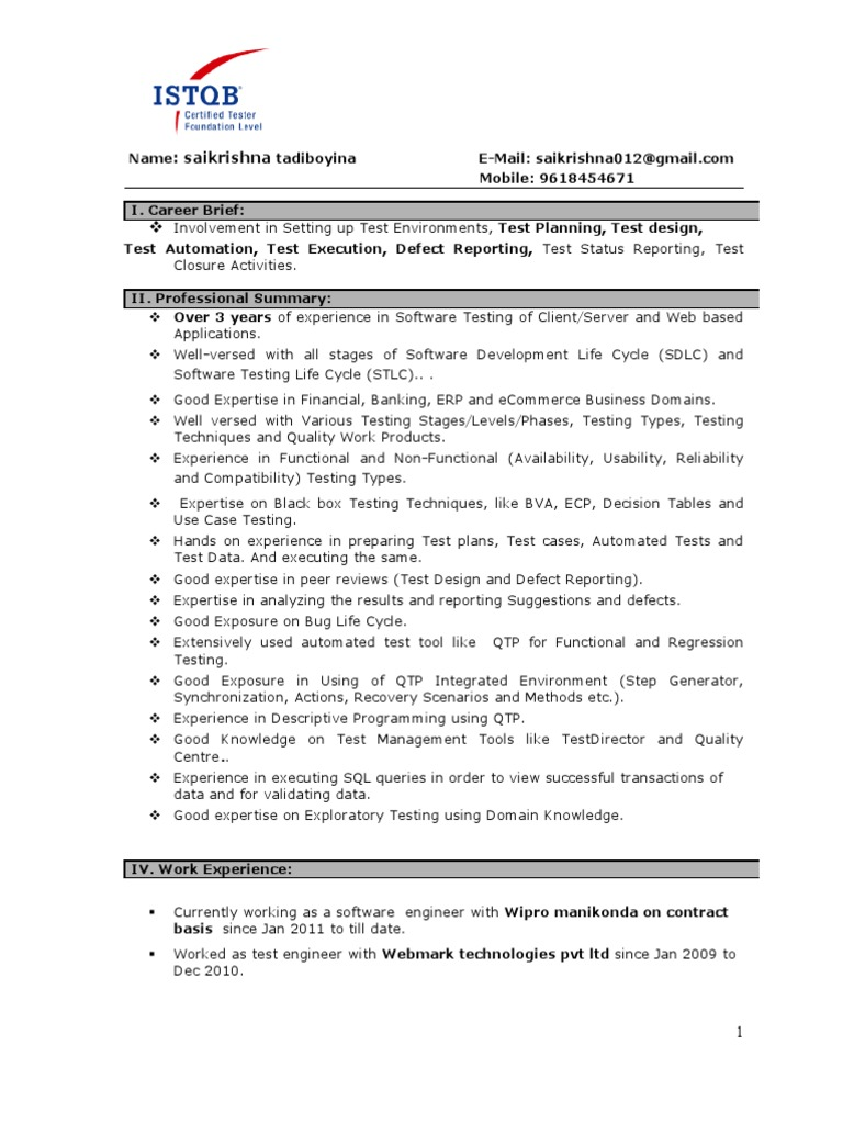 manual testing experienced resume software development format medical coding experience Resume Manual Testing Resume Format