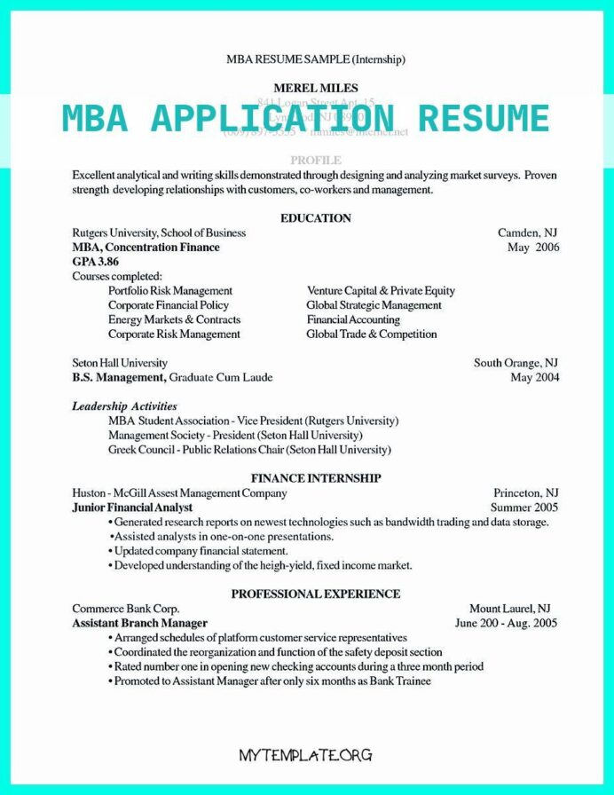 mba application resume free templates for admission of examples best write properly your Resume Mba Student Resume Examples