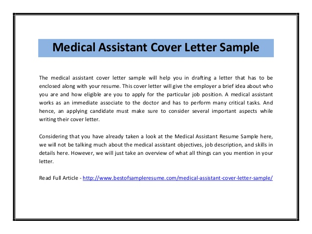 medical assistant cover letter sample pdf resume for dietary aide position community Resume Medical Assistant Resume Cover Letter