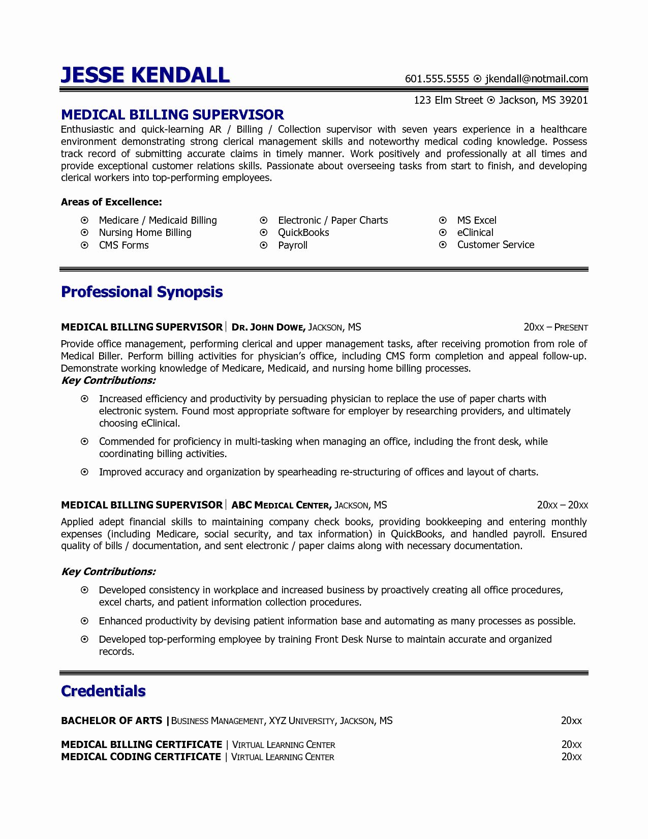 medical biller resume examples new billing and coding example samplebusinessresume Resume Medical Billing Resume Examples