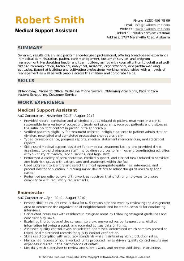medical support assistant resume samples qwikresume pdf resubmit scientific credit Resume Medical Support Assistant Resume