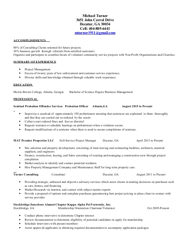 mikes resume for ex felons acquisition program manager sample free edit social work Resume Resume For Ex Felons