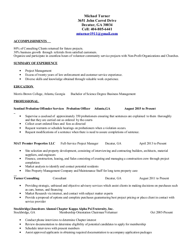 mikes resume for ex felons lva1 app6891 thumbnail event coordinator assistant sample Resume Resume For Ex Felons