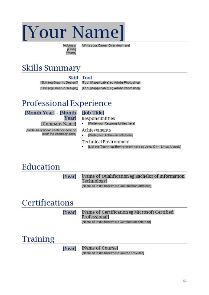 modern free resume templates blank template scout billeting coordinator another word for Resume Download Blank Resume Template