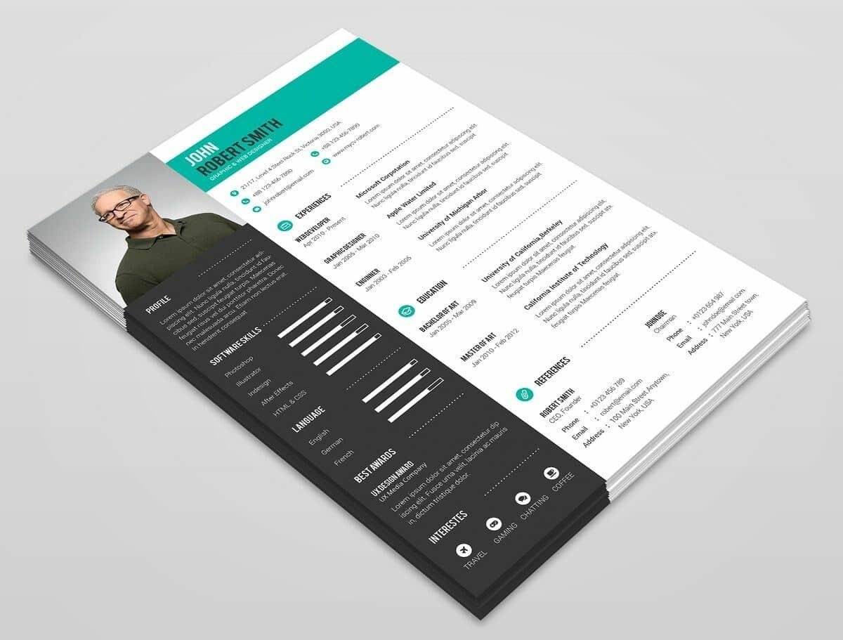 modern resume template format examples for best templates research lab technician Resume Best Modern Resume Template