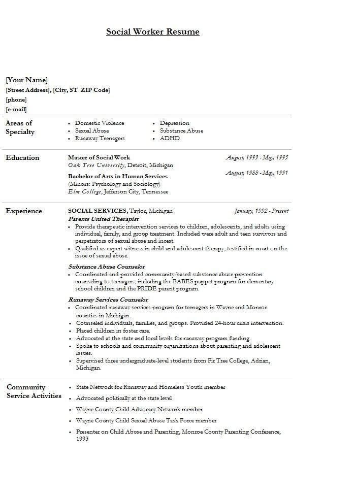 modern social worker resume template sample clinical work templates free flexible and Resume Social Work Resume Templates Free