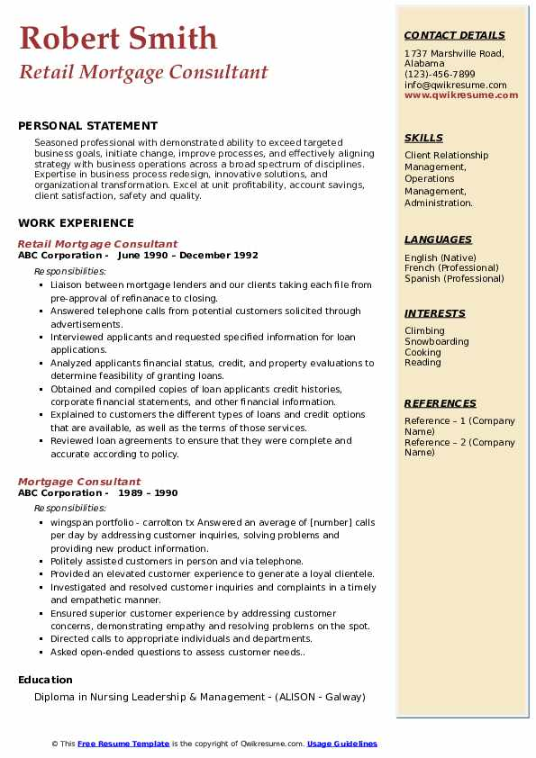 mortgage consultant resume samples qwikresume pdf sap production planning umich template Resume Mortgage Consultant Resume