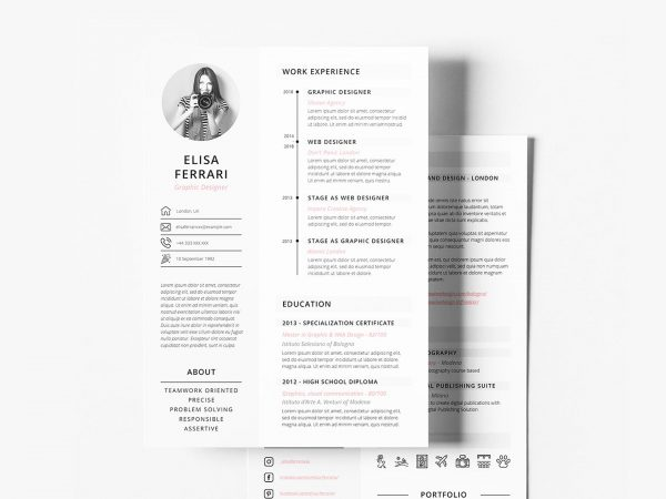 most popular free resume templates resumekraft the best template for two creative 600x450 Resume The Best Template For Resume 2020