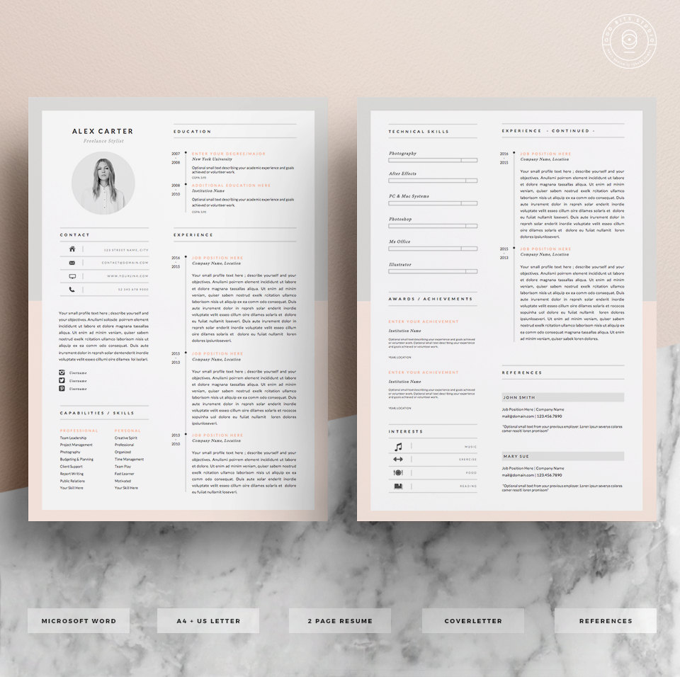 must haves for winning resume glassdoor eye catching resumes templates free il fullxfull Resume Eye Catching Resumes Templates Free