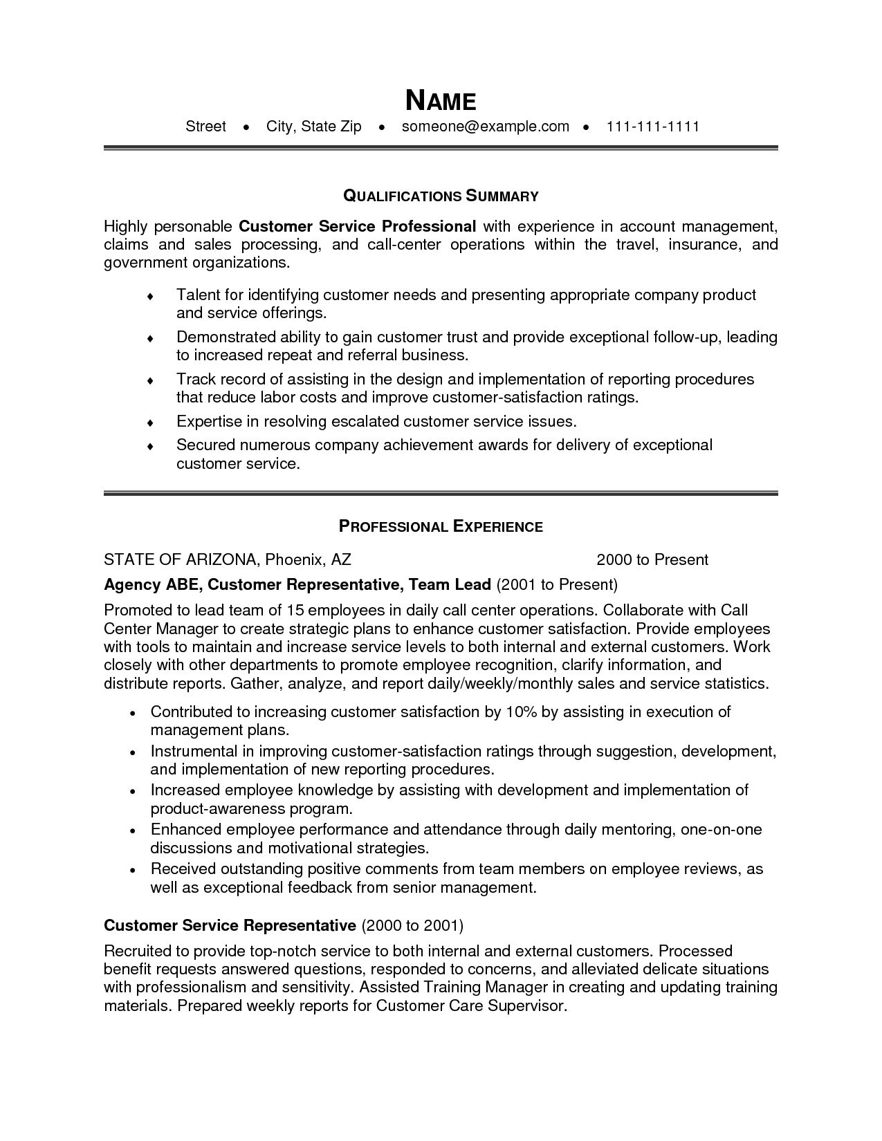 new customer service resume summary examples template professional paper color mensa on Resume Professional Customer Service Resume