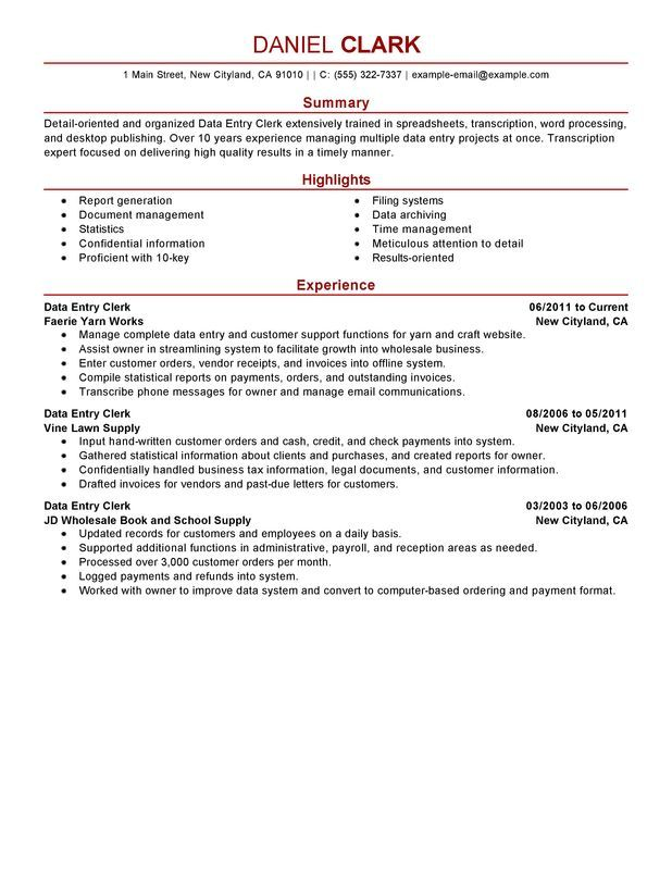 not found my perfect resume examples job samples summary for data entry bld charge Resume Resume For Data Entry Job
