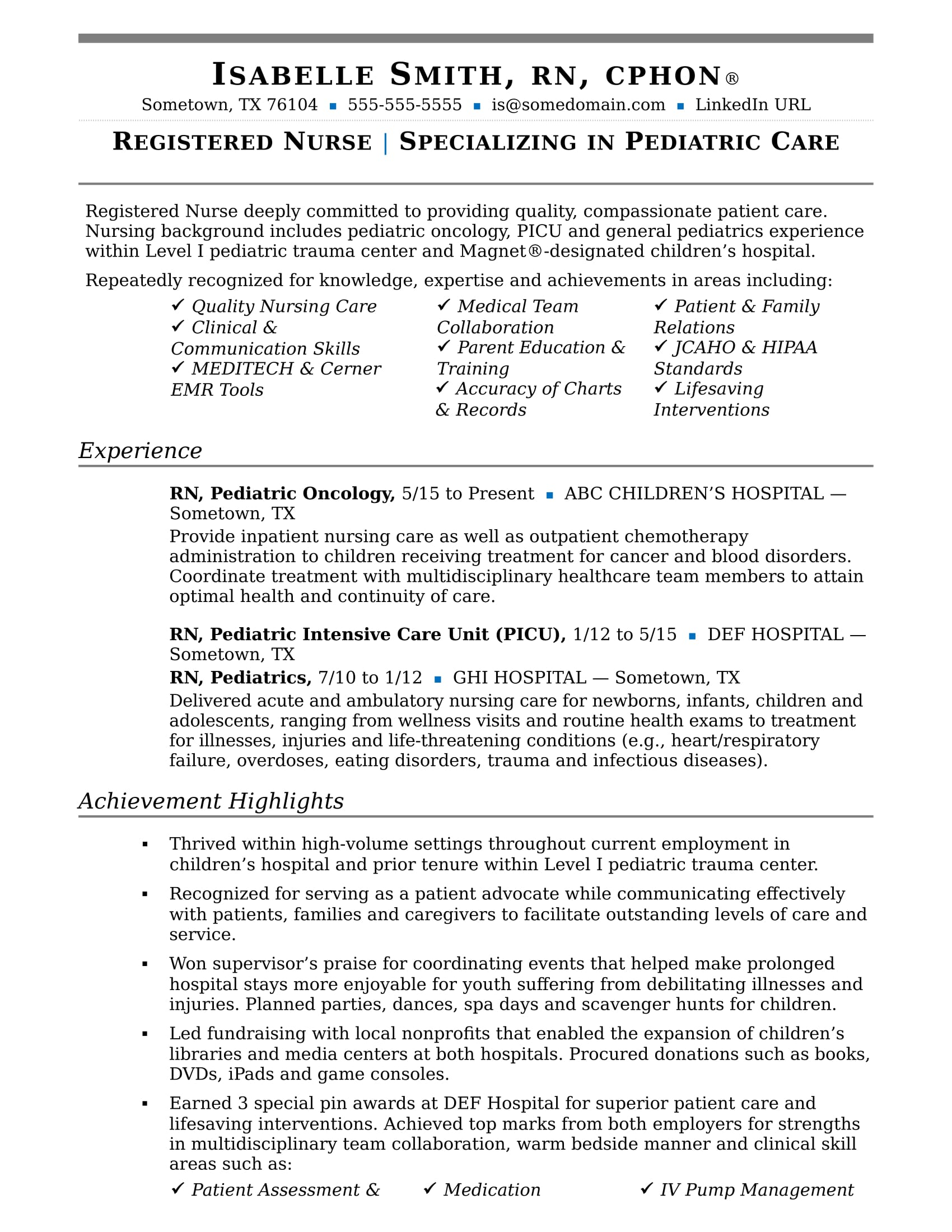 nurse resume sample monster nursing examples with clinical experience leasing specialist Resume Nursing Resume Examples With Clinical Experience