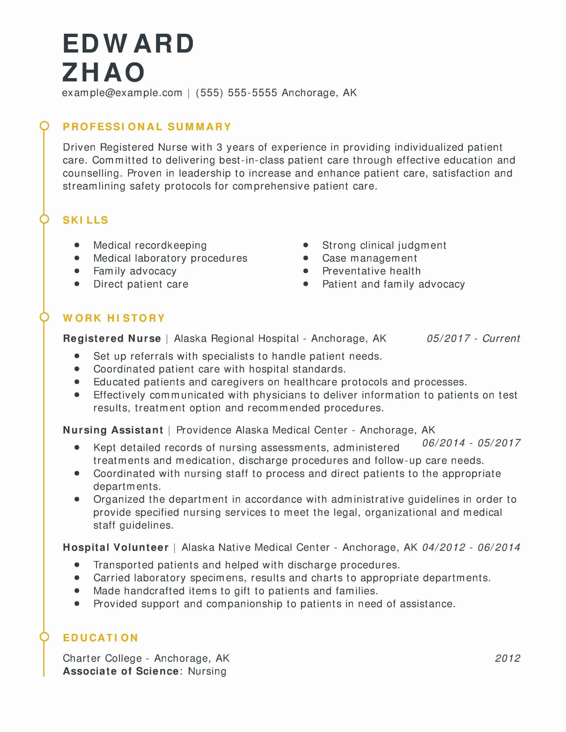 nursing skills resume inspirational customize your registered nurse with myperfe template Resume Professional Summary For Nursing Resume