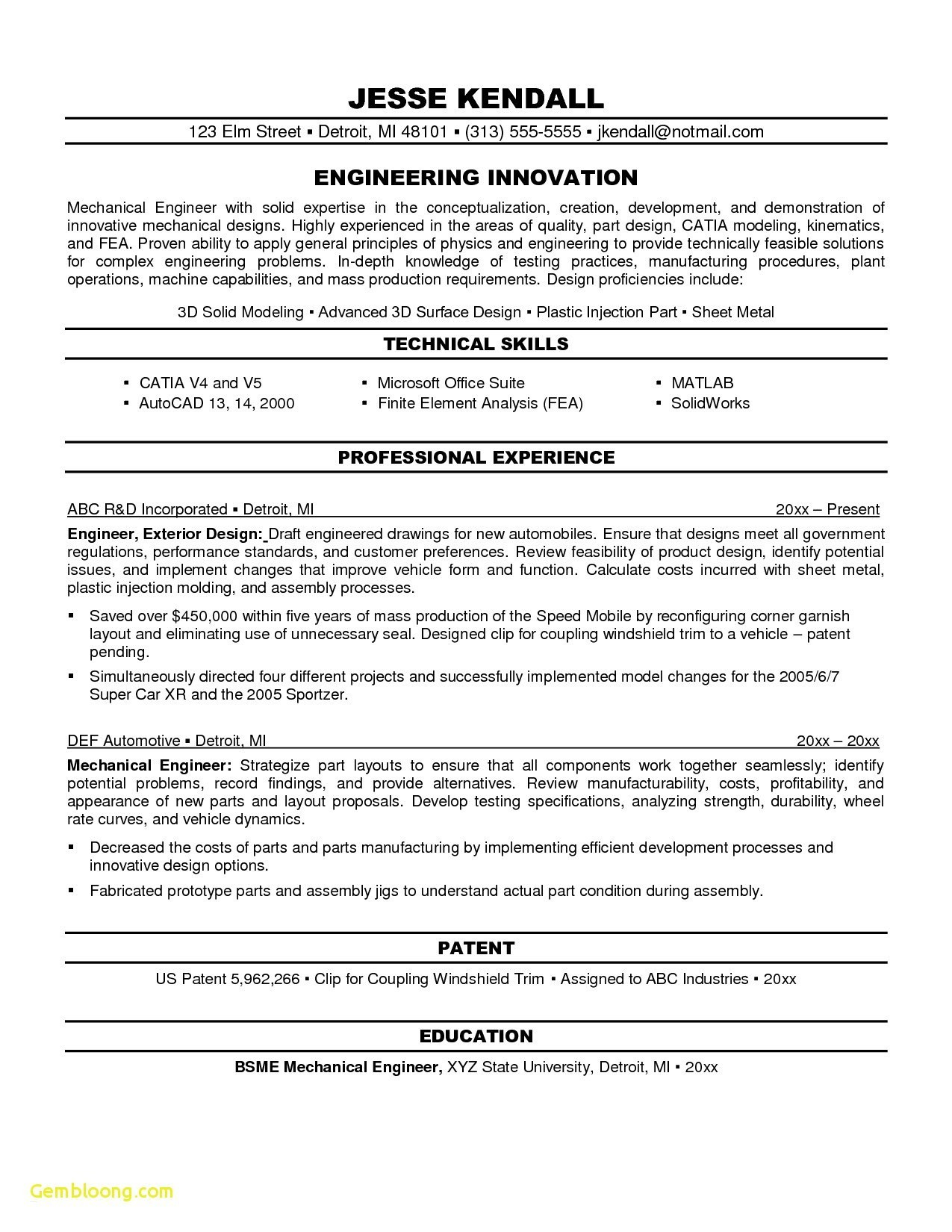 objectives for resume mechanical engineers best engineering objective examples general Resume Best General Objective For Resume