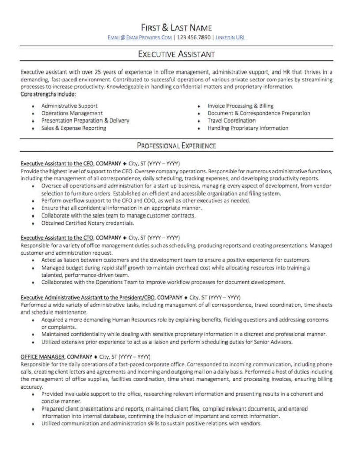 office administrative assistant resume sample professional examples topresume admin page1 Resume Admin Assistant Resume Sample