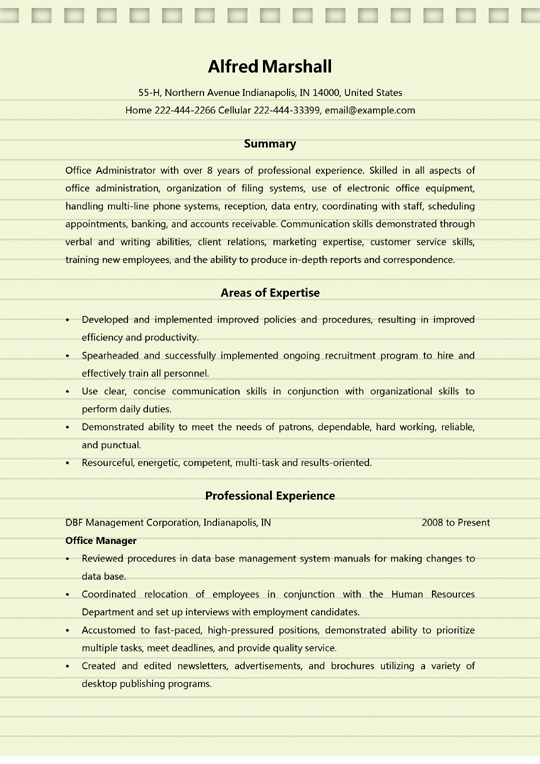 office administrator resume examples ms word duties of manager for sample reset Resume Duties Of Office Manager For Resume