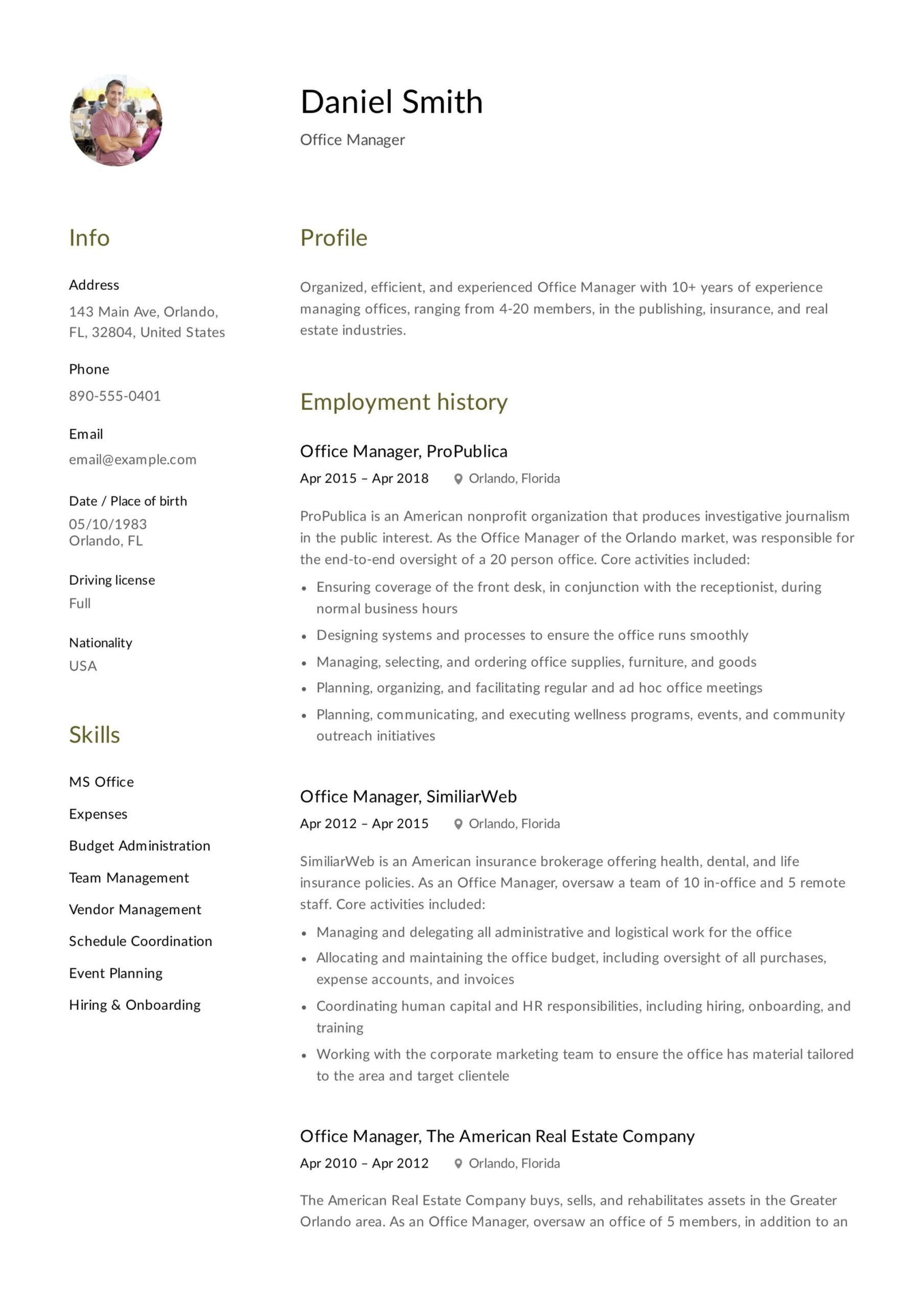 office manager resume guide samples pdf front desk example design trackid sp build your Resume Front Desk Manager Resume