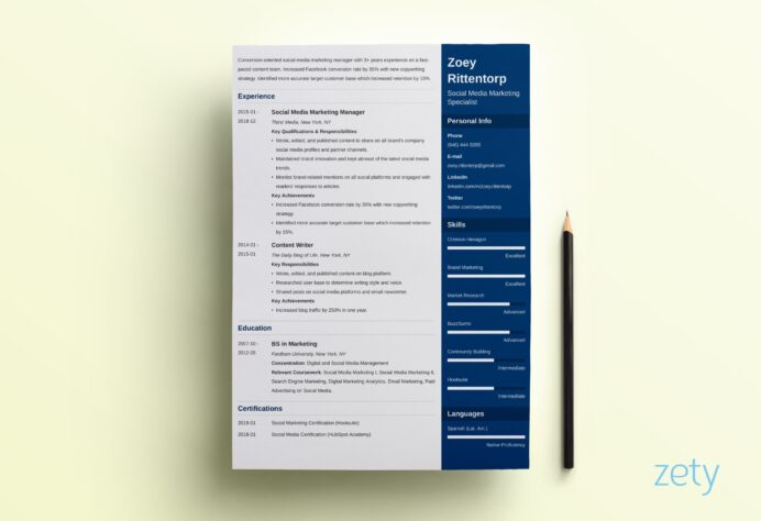 one resume templates examples of format builder enfold sap production planning current Resume One Page Resume Builder