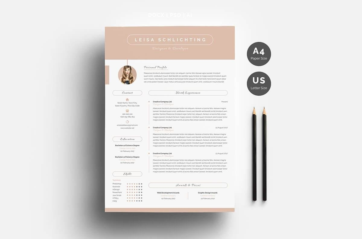 one resume templates examples of format restaurant server sample free pictographic mentor Resume One Page Resume Examples