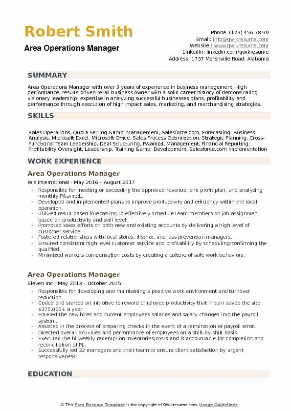 operations manager resume examples inspirational area samples management words financial Resume Financial Operations Manager Resume