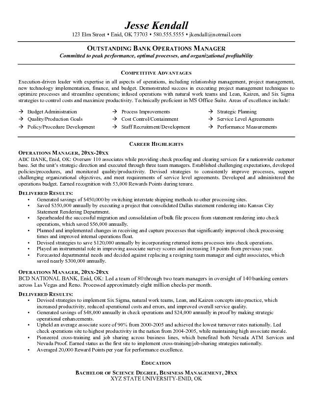 operations manager resume examples professional templates management harvard law school Resume Operations Manager Resume Examples