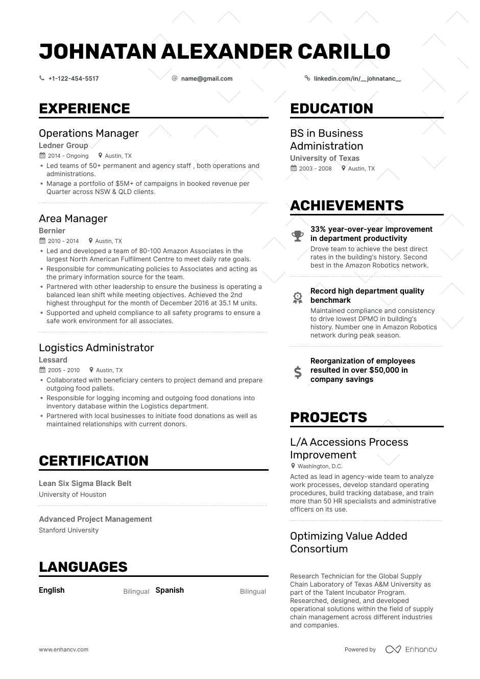 operations manager resume step ultimate guide for examples generated starbucks experience Resume Operations Manager Resume Examples