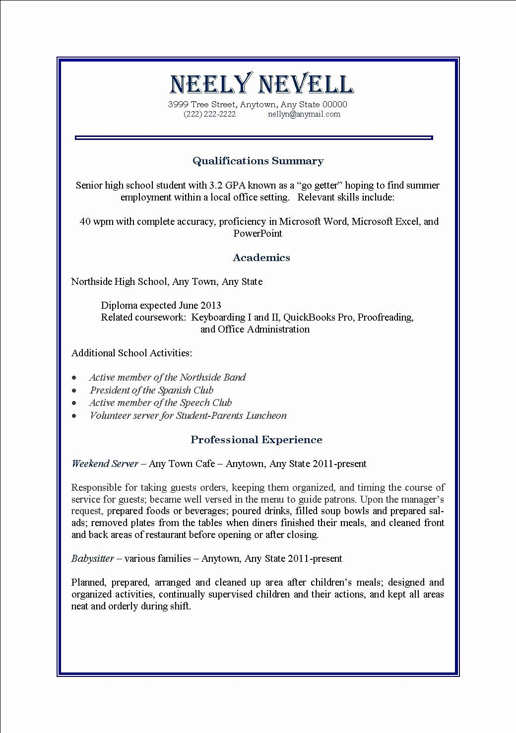 part time job resume examples elegant samples for first student template worker Resume First Time Worker Resume