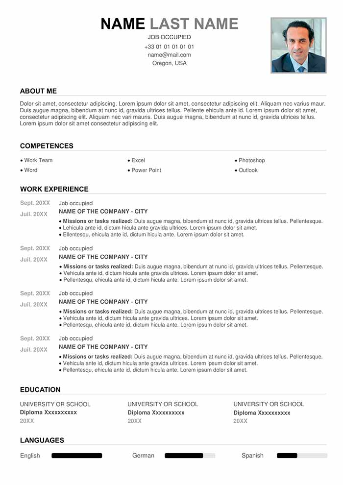 perfect resume example for free cv word template entry level cashier general accountant Resume Perfect Resume Template