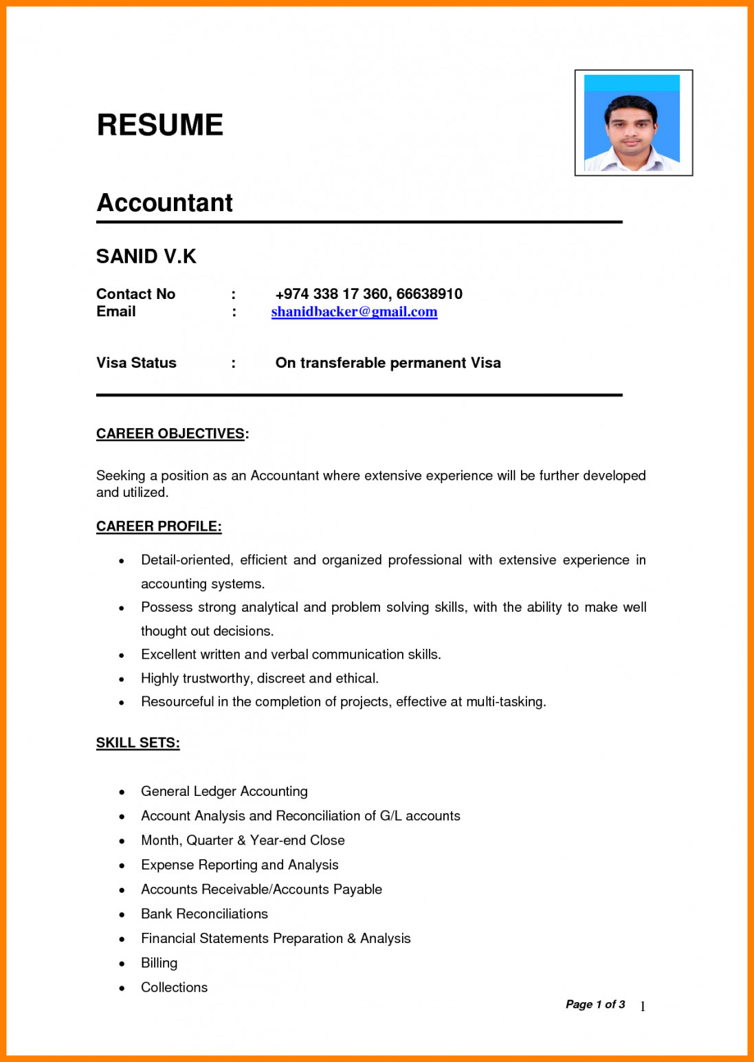 perfect resume sample pdf template builder example for job application cv great objective Resume Resume For Job Application Pdf