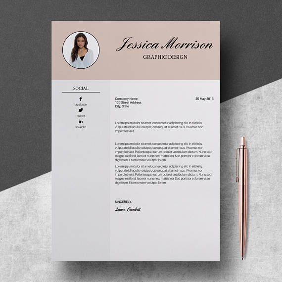 photo resume template instant cv etsy design yale som objective for an administrative Resume Yale Som Resume Template