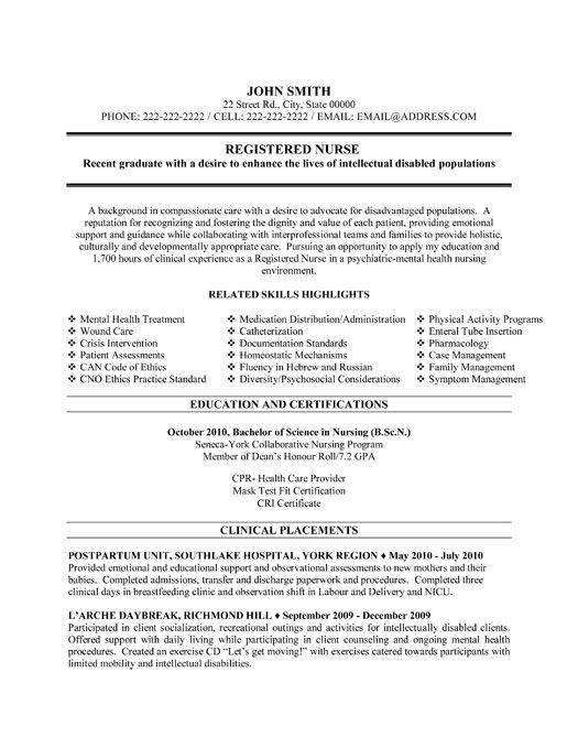 pin by jessica hurley on nursing resume template registered nurse examples free good vs Resume Free Nursing Resume Examples