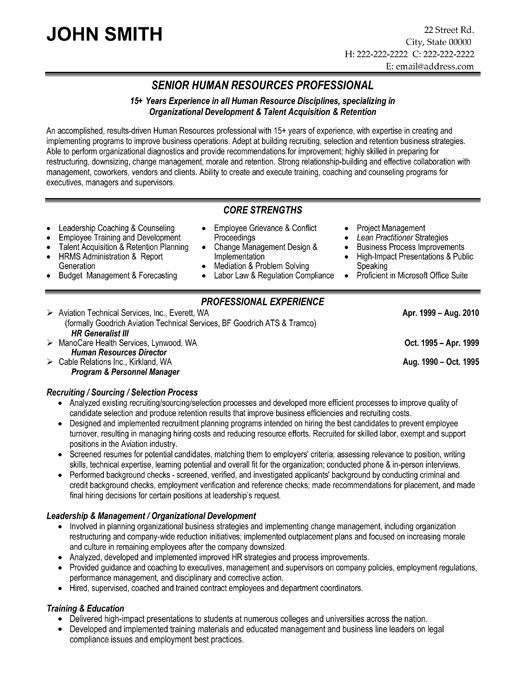 pin by noor die jedi on human resources hr resume templates samples template program Resume Human Resources Resume Template