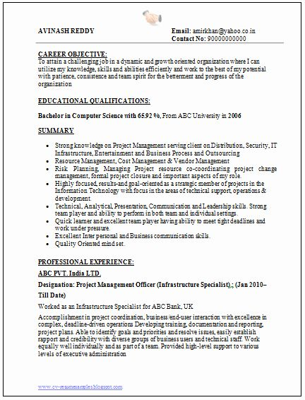 pin on job resume sample bachelor of science career objective for year experience general Resume Bachelor Of Science Resume
