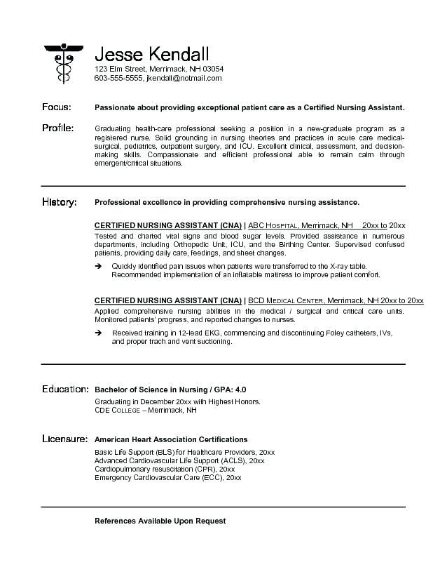 pin on professional resume template cna sample no experience administrative templates Resume Cna Resume Sample No Experience