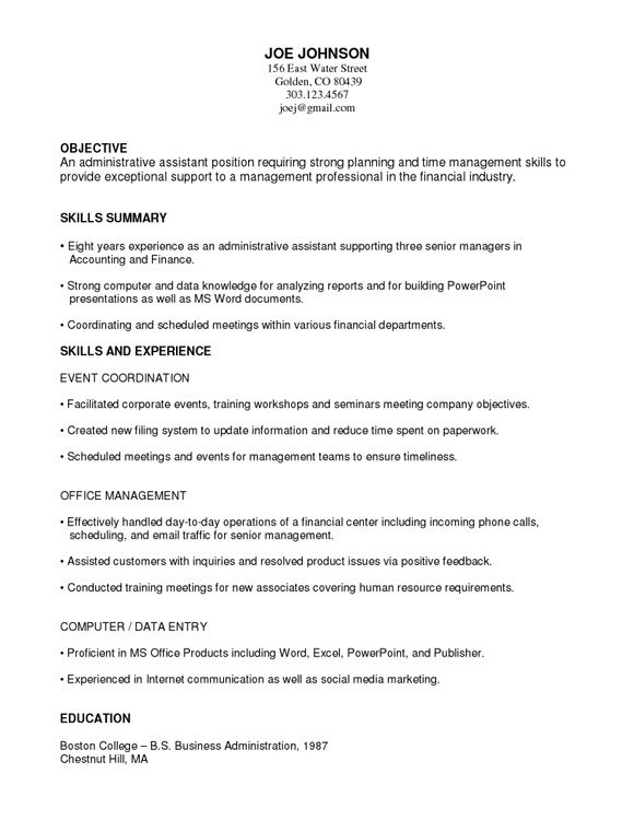 pin on resume job sample functional template project coordinator chicago booth data Resume Sample Functional Resume Template