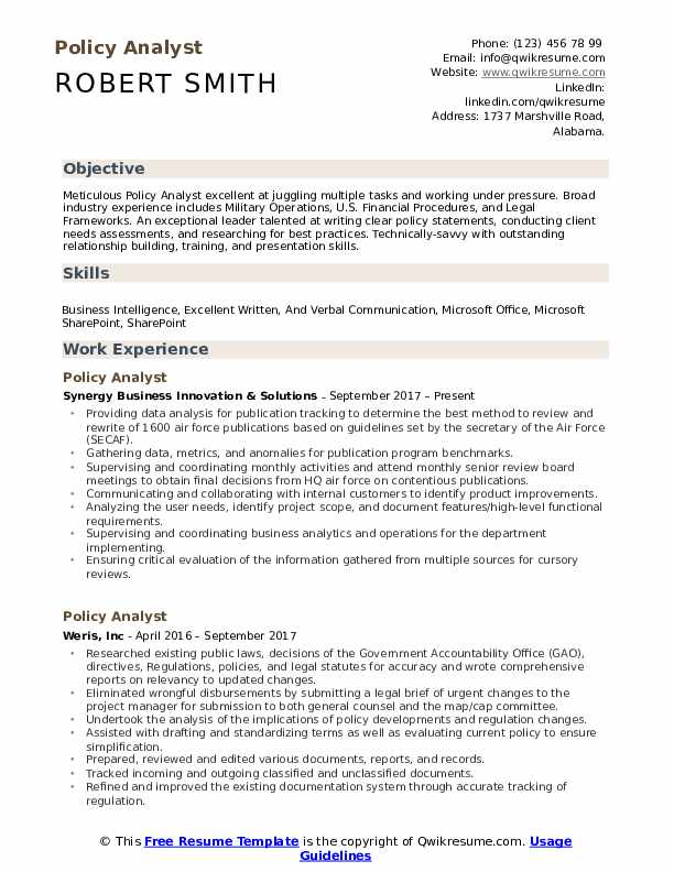 policy analyst resume samples qwikresume skills for pdf adobe stock templates educational Resume Skills For Analyst Resume