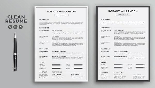 printable resume template free word pdf documents premium templates to get good personal Resume Where To Get Free Resume Templates
