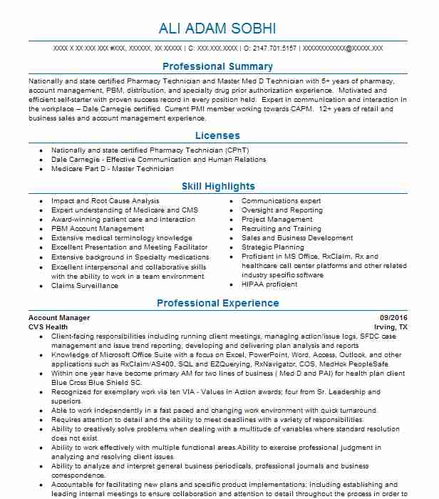 professional account manager resume examples marketing livecareer best for achievements Resume Best Resume For Account Manager