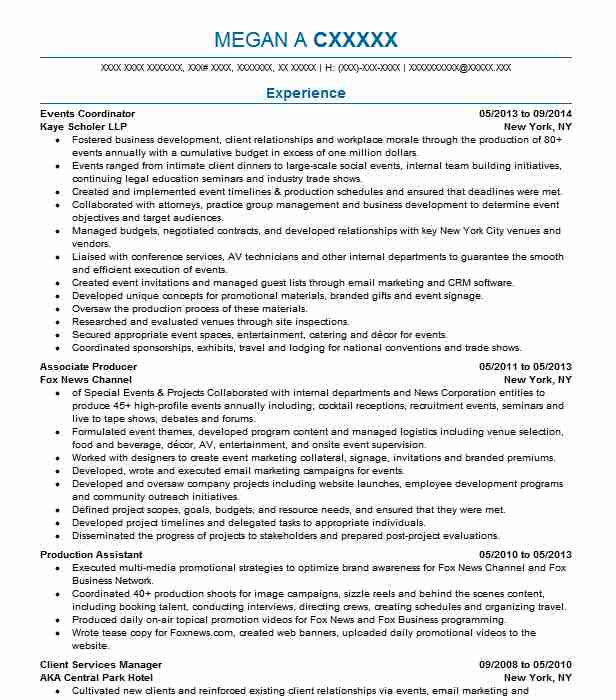 professional resume examples livecareer event coordinator local builders piping Resume Event Coordinator Resume