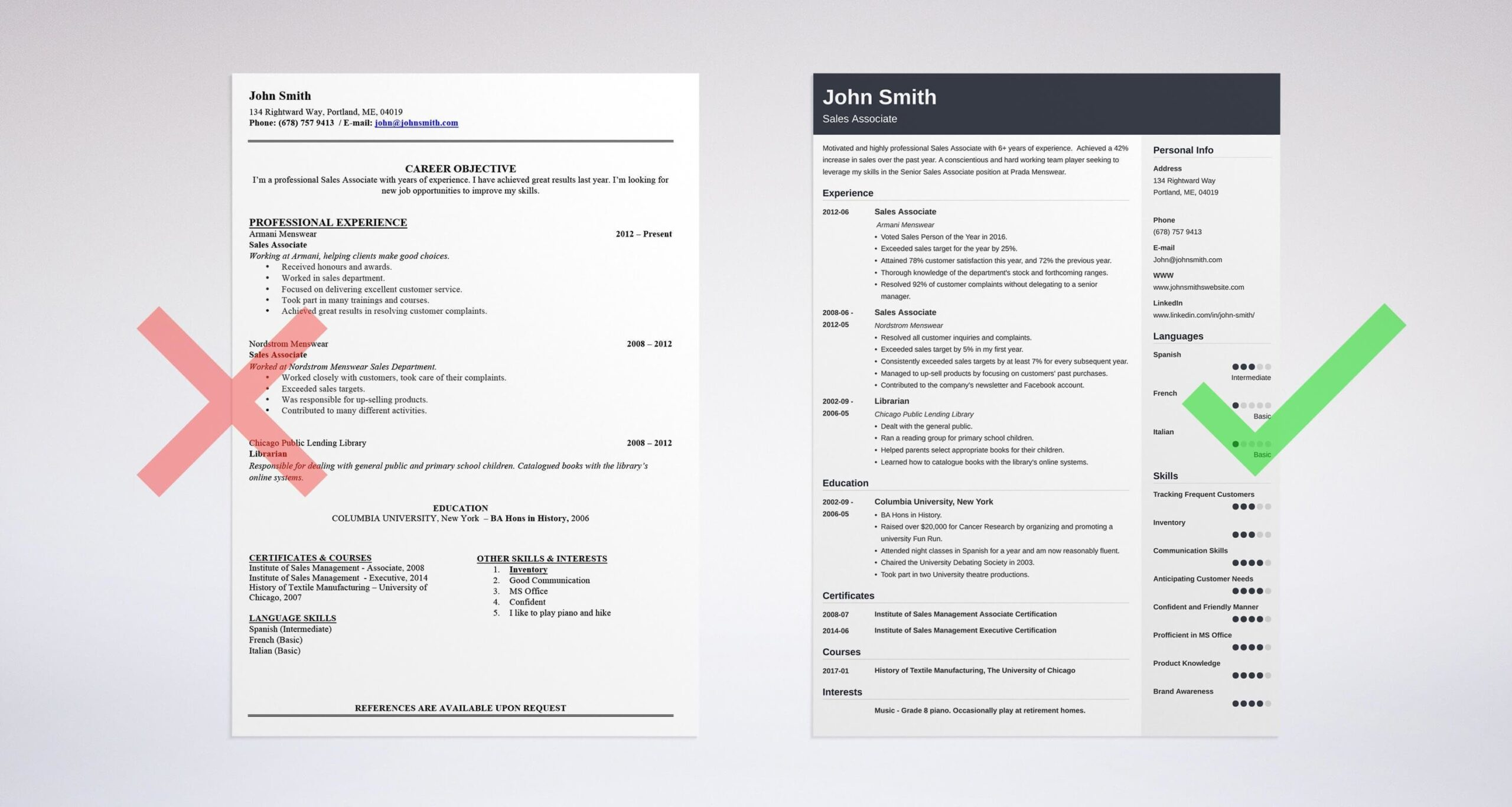 professional resume summary examples statements general for on template cubic nozoom Resume General Summary For Resume
