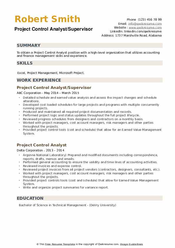 project control analyst resume samples qwikresume sample pdf prime strong examples Resume Project Control Analyst Resume Sample