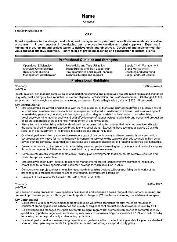 project management executive resume example best template for manager sample executive7a Resume Best Resume Template For Project Manager