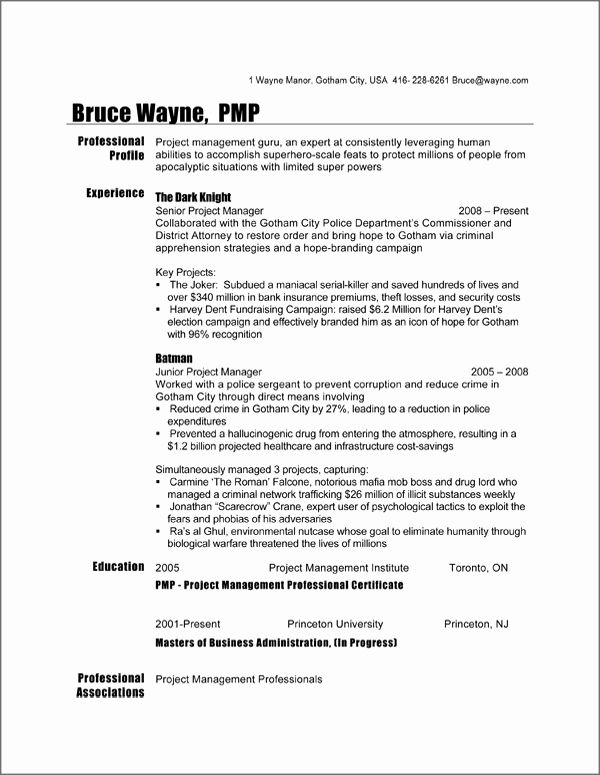 project manager resume sample unique format planner template free job samples logistics Resume Canadian Resume Template Free