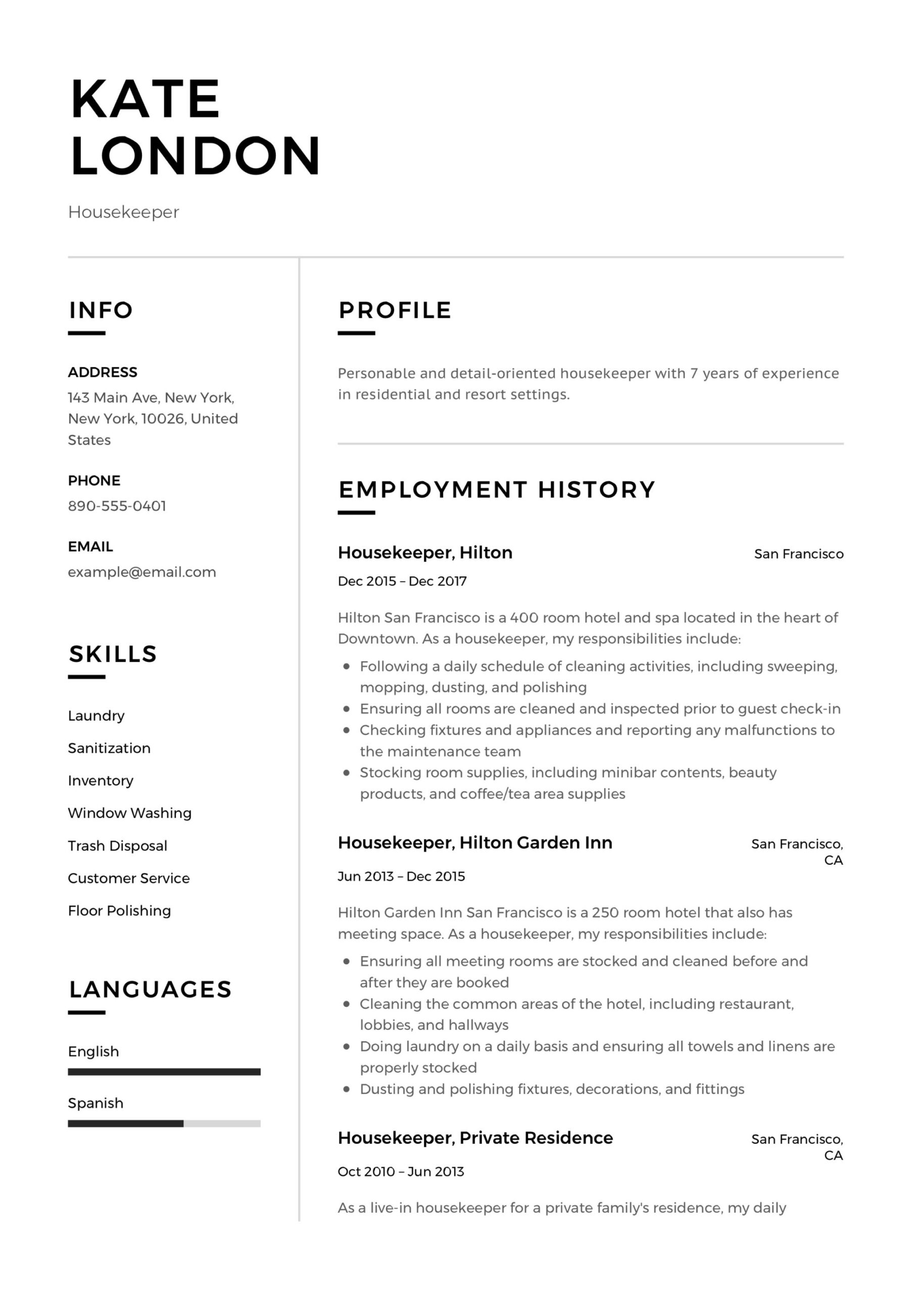 quality control specialist resume proactive synonym graphic design job description for Resume House Cleaning Job Description For Resume