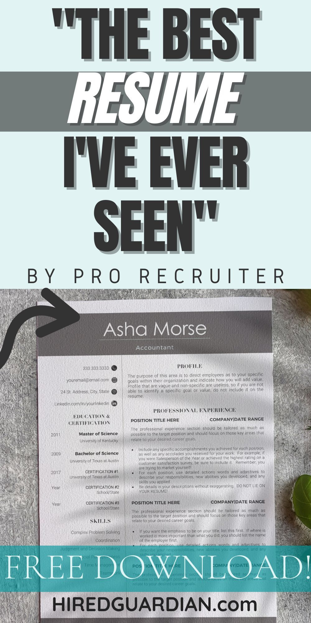 ready to evolve your resume minimalist template professional examples the step modern Resume The 24 Step Modern Resume