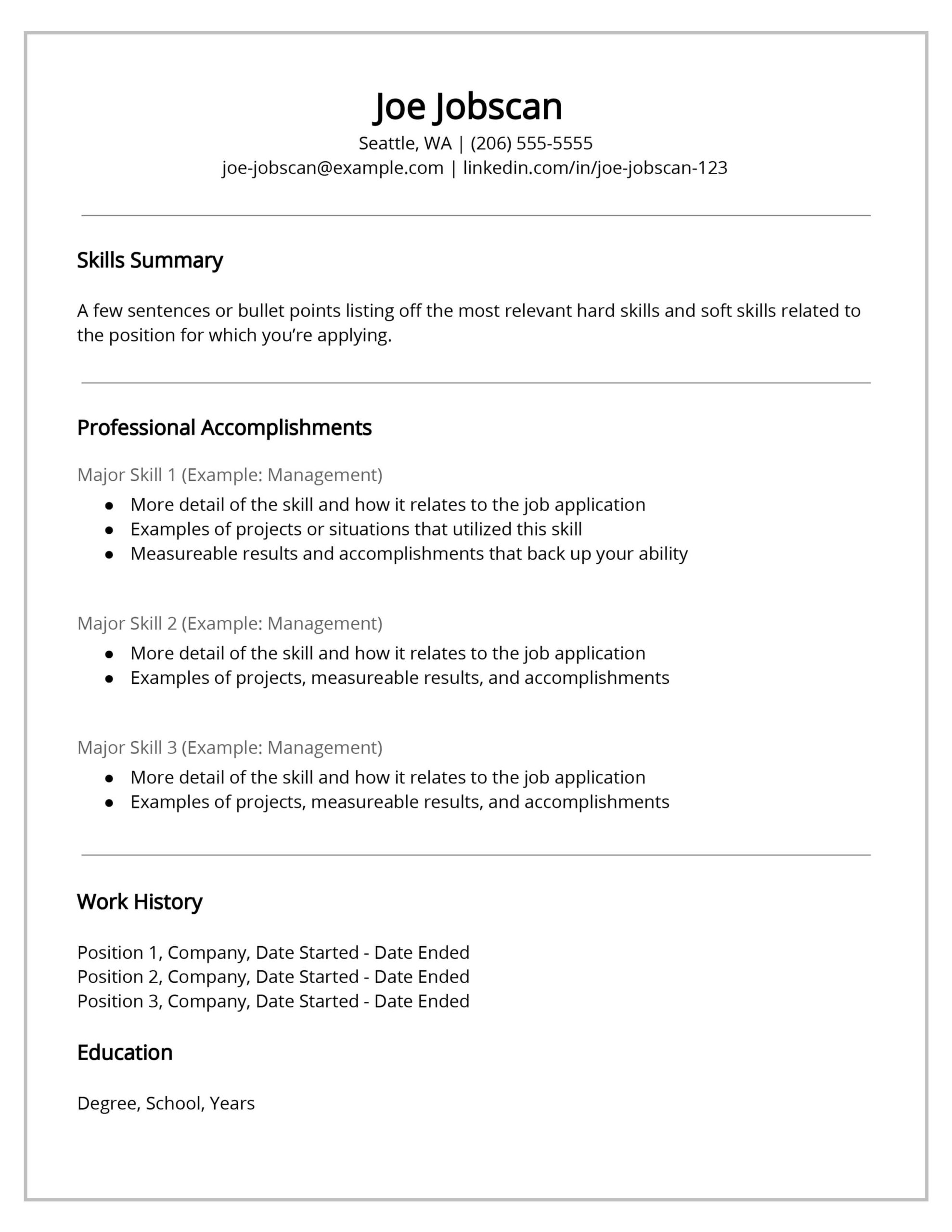 recruiters hate the functional resume format here combination sample template security Resume Combination Resume Sample