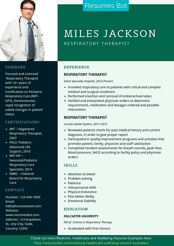 respiratory therapist resume samples templates pdf word resumes bot sample example toyota Resume Respiratory Therapist Resume Sample