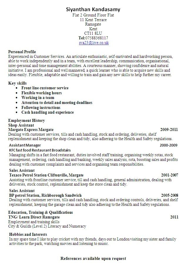 resume builder no work experience job samples customer service examples for someone with Resume Resume Builder For Someone With No Work Experience
