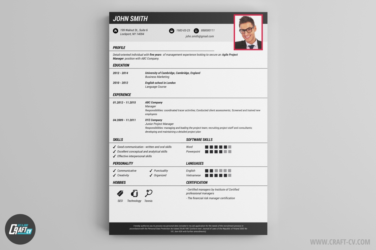 resume builder templates craftcv make your free sorority example priest good experience Resume Make Your Resume Online Free